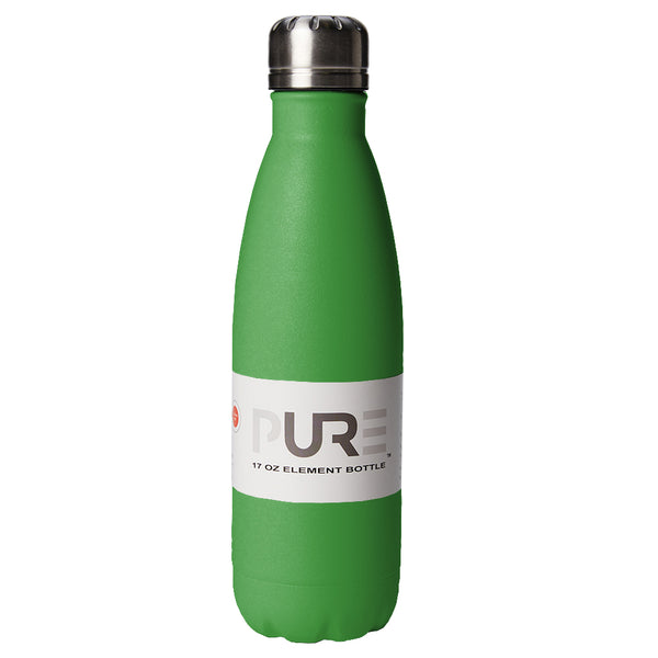 PURE Drinkware 17 oz Bottle - Green - PURE Drinkware