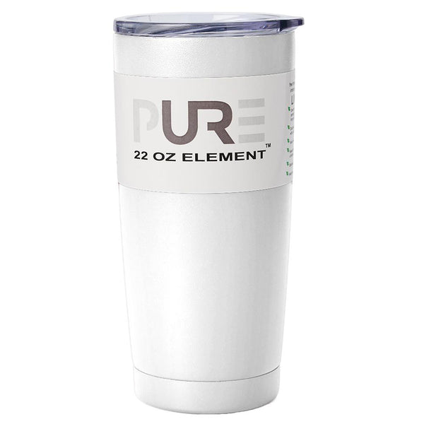 PURE Drinkware 22 oz Tumbler - White