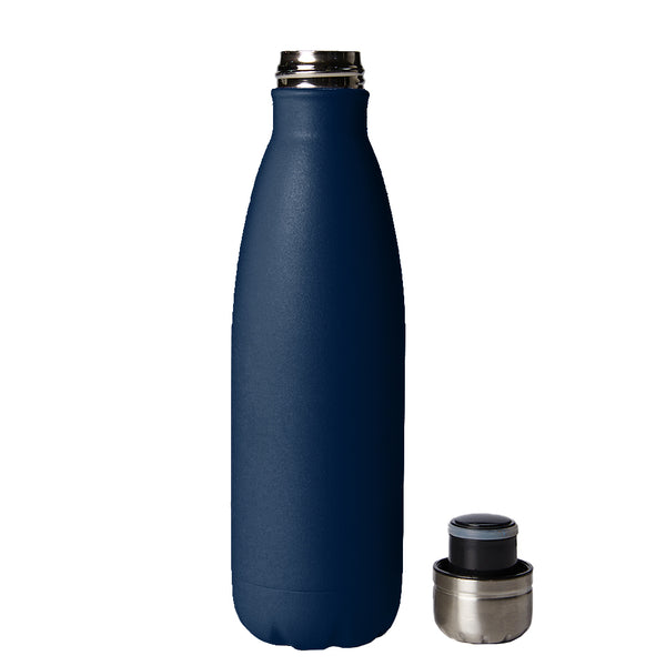 PURE Drinkware 17 oz Bottle - Navy - PURE Drinkware