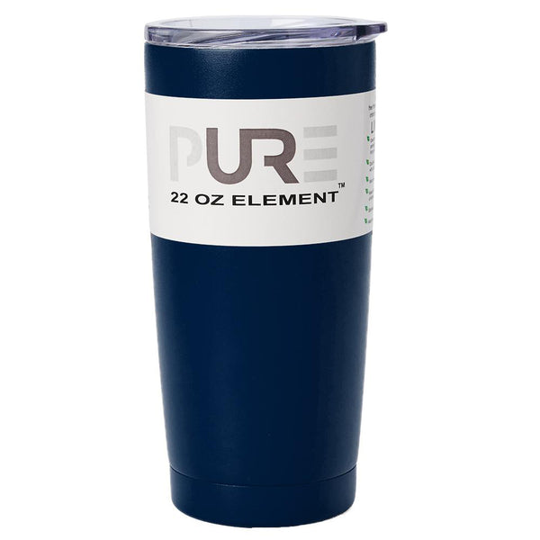 PURE Drinkware 22 oz Tumbler - Navy