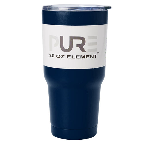PURE Drinkware 30 oz Tumbler - Navy Blue - PURE Drinkware