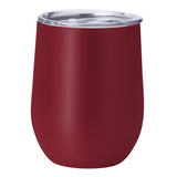 PURE Drinkware 10 oz Stemless Wine Glass - Crimson - PURE Drinkware