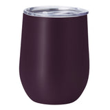 PURE Drinkware 10 oz Stemless Wine Glass - Aubergine - PURE Drinkware