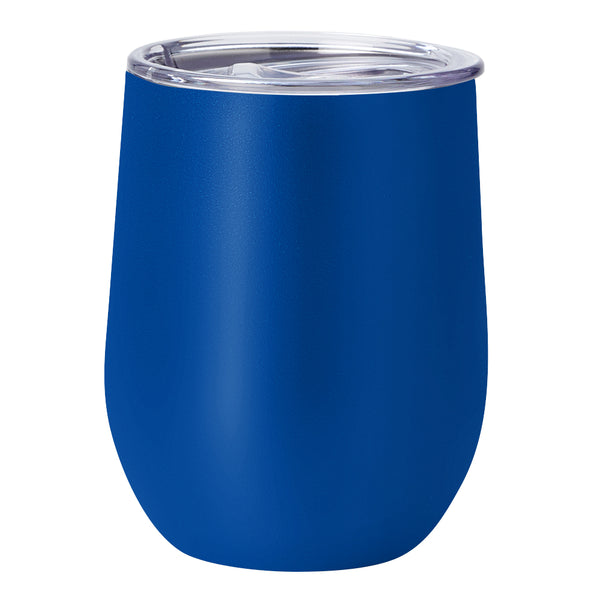 PURE Drinkware 10 oz Stemless Wine Glass - Royal Blue - PURE Drinkware
