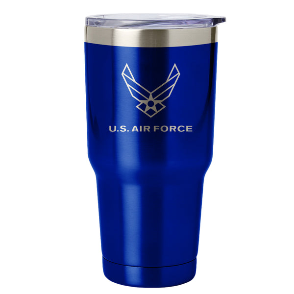 PURE Drinkware 30 oz Tumbler - Air Force (Blue) - PURE Drinkware