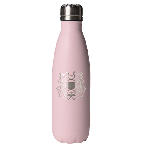 PURE Drinkware 17 oz Bottle - Coast Guard (Candy Blush) - PURE Drinkware