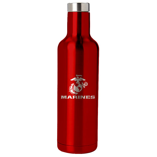 PURE Drinkware 25 oz Bottle - Marine Corps (Red) - PURE Drinkware