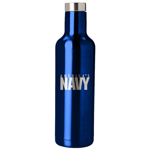 PURE Drinkware 25 oz Bottle - US Navy (Navy Blue) - PURE Drinkware