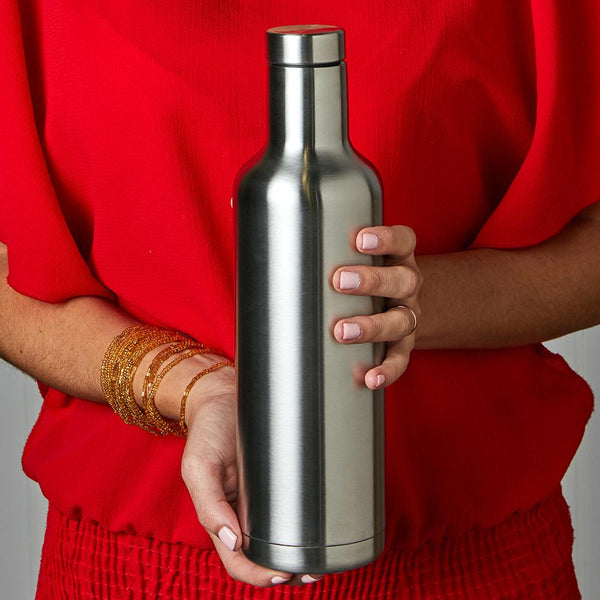PURE Drinkware 25 oz Bottle - Stainless Steel - PURE Drinkware