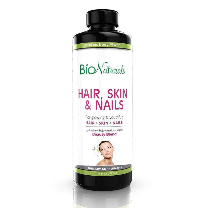 Bio Naturals Hair Skin & Nails Liquid Vitamin Supplement