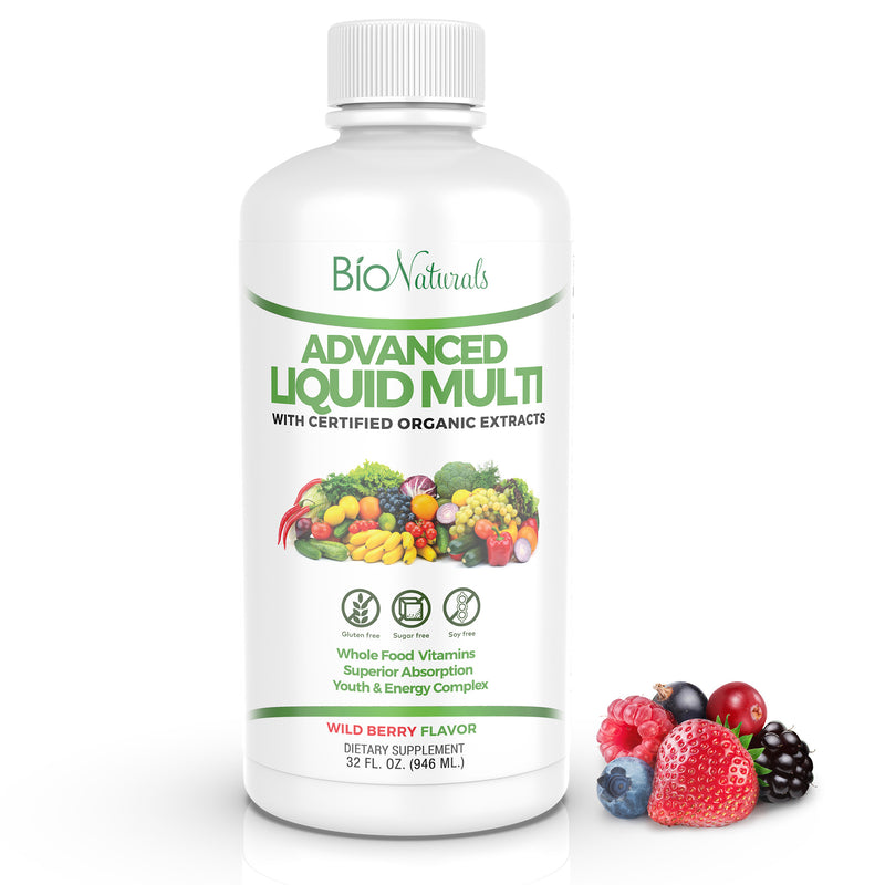 Bio Naturals Liquid Multivitamin for Men & Women