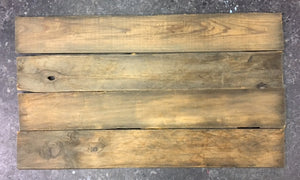 "Reclaimed Farmhouse Flooring, Weathered Rustic Lumber 24"" x 5"""