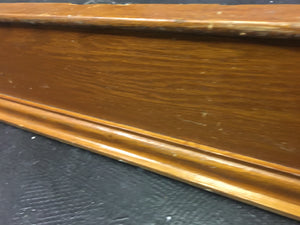 "Reclaimed Wood Weathered Oak Trim Molding 42"" x 5"""