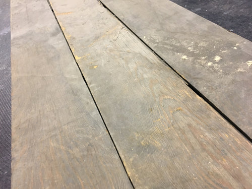 3 ft Reclaimed Barn Wood Flooring, Weathered Rustic Lumber