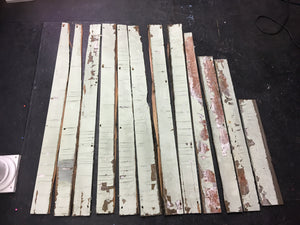 Reclaimed Wood Panels, Authentic Rustic Barn Wood Boards 4'-23""