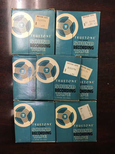 Truetone Sound Recording Tape 1.5mil / 1.4in x 150ft EXCELLENT