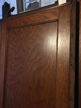 "Solid Wood Pocket Door w/ Rollers, Reclaimed Antique 79"" x 30"" Excellent"