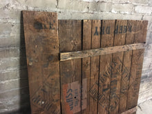 "Reclaimed Farmhouse Wood Panels, Rustic Accent Wall 41""x 39"""