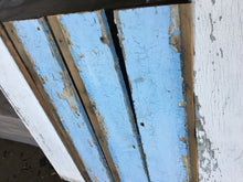 Shabby Chic Farmhouse Wood Panels, Rustic Reclaimed Wood Siding 3'x7""