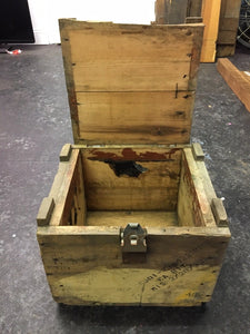 Antique GMC Truck Parts Shipping Crate, 1951 RARE!