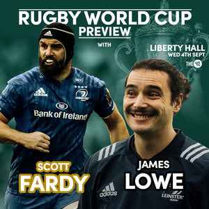 The42's Rugby World Cup Preview Night with James Lowe and Scott Fardy (4 September)