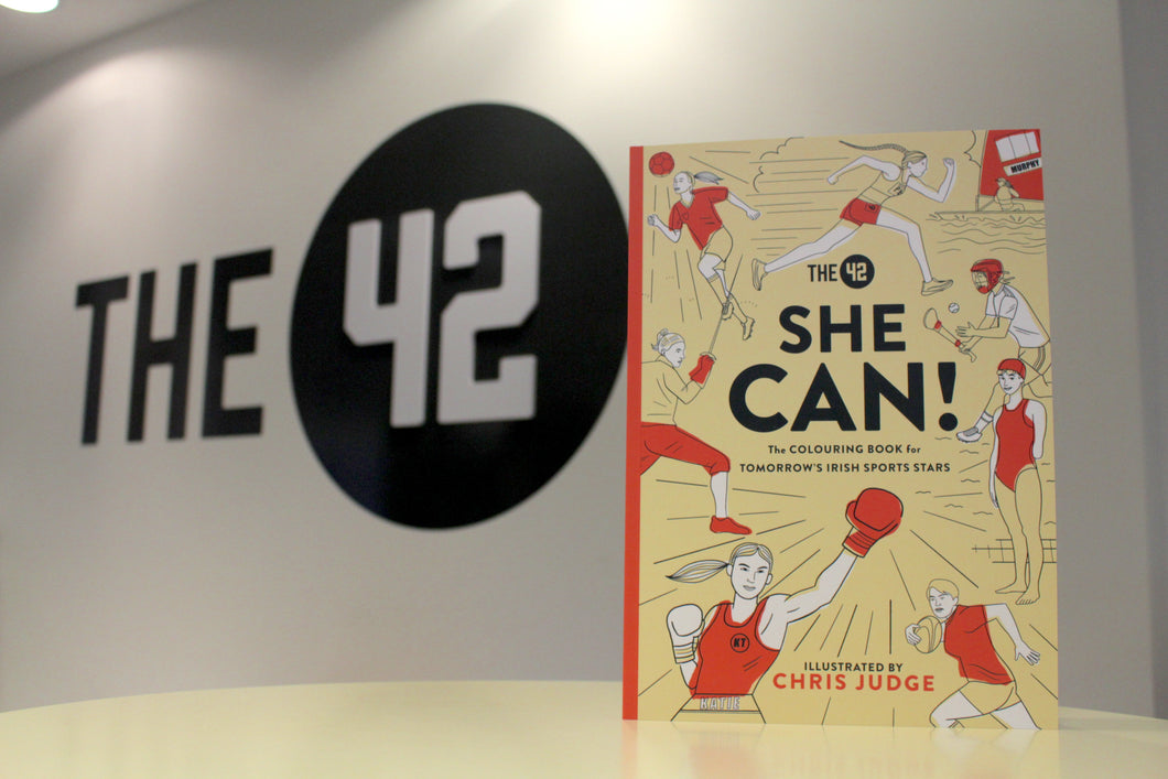 She Can! The Colouring Book for Tomorrow's Irish Sports Stars