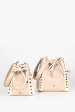 Two bucket bags in different sizes