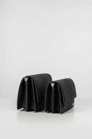 Two bags in side view