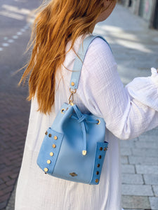 Mini Bucket bag baby blue