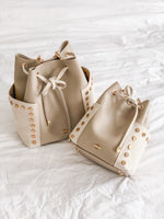 Mini Bucket bag sand