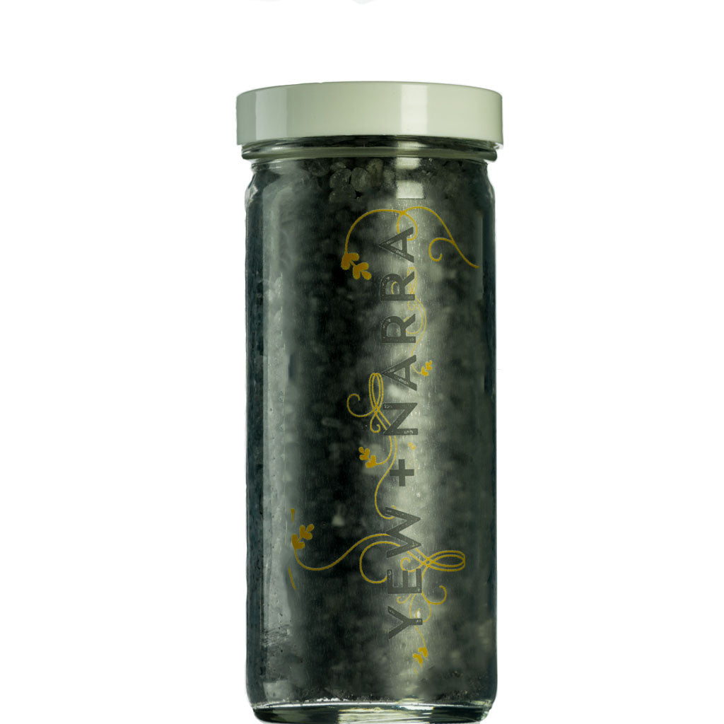 Black Lava Hawaiian Bath Salt