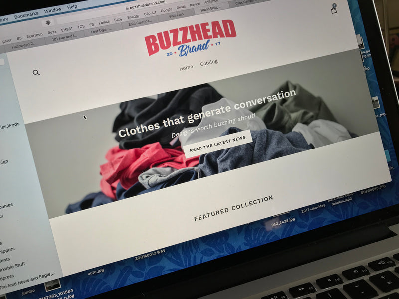 BuzzHead Brand Now Shipping!