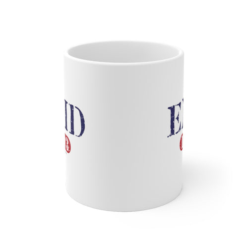 Enid 1893 White Ceramic Mug