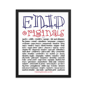 Enid Originals Framed poster