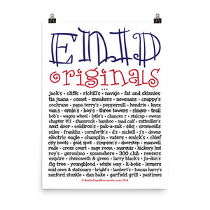 Enid Originals Poster