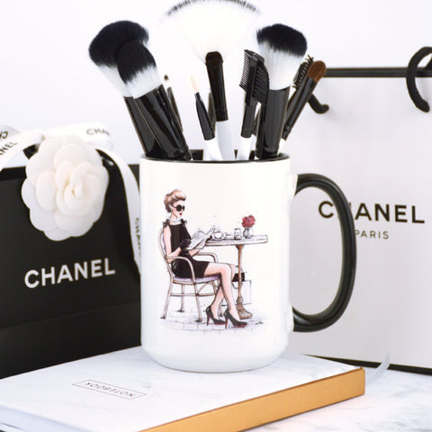 "Fashion Coffee Mug ""Le Petit Dejeuner"""