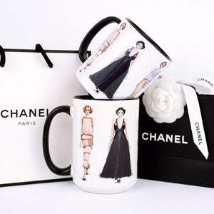 "Chanel Coffee Mug ""Chanel Haute Couture"""