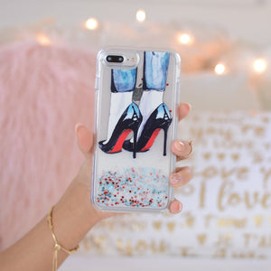 "Glitter iPhone Case ""Cloudy In paris"""
