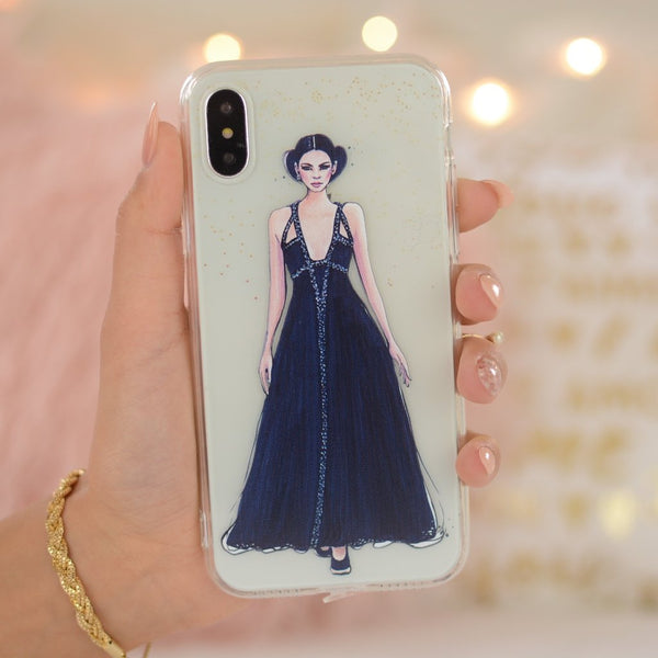 "iPhone X Case ""Kendall In Chanel"""