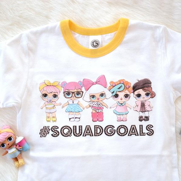 "LOL Surprise Dolls Inspired T-Shirt ""#SQUADGOALS"""