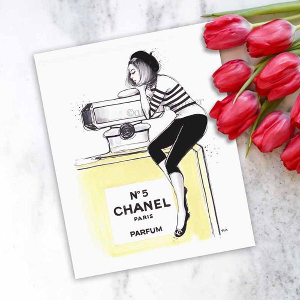 "Chanel Print ""Dreaming Of Chanel"""