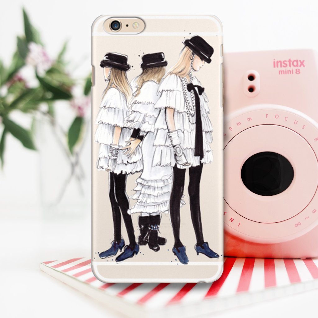 "Transparent iPhone Case ""Chanel Ready-To-Wear"""