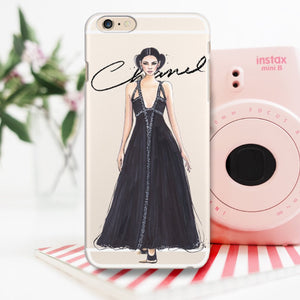 "Transparent iPhone Case ""Kendall In Chanel"""