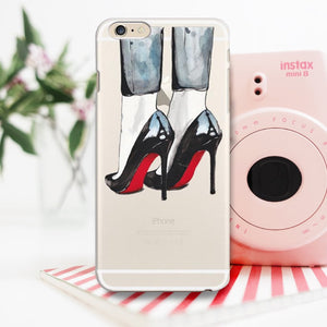 "Transparent iPhone Case ""Cloudy In Paris"""