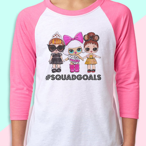 "LOL Surprise Dolls Inspired T-Shirt ""Glam Squad"""