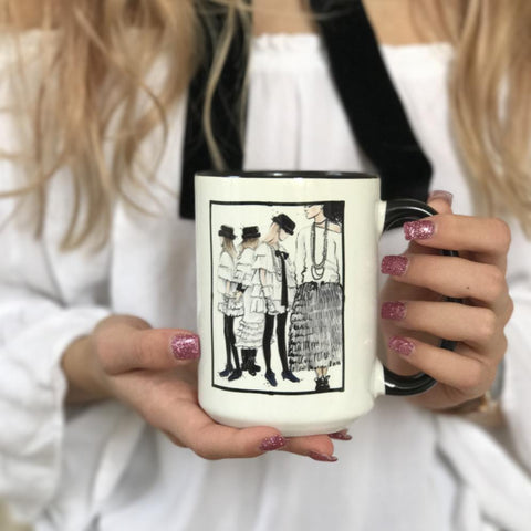 "Chanel Coffee Mug ""Chanel Ready To Wear"""