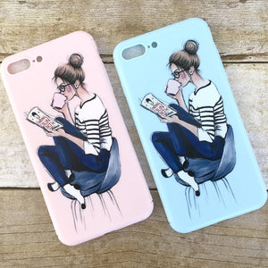 "Cute iPhone Case ""Coffee Break"""