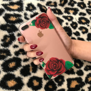 "Floral iPhone Case ""Roses"""