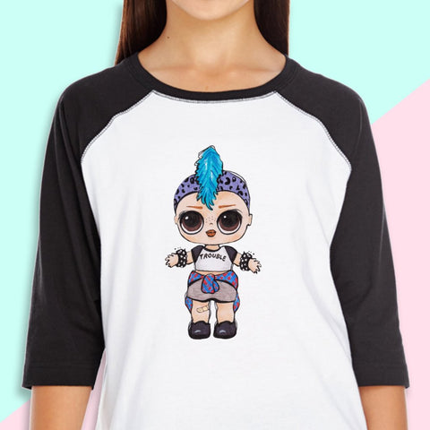 "LOL Surprise Dolls Inspired T-Shirt ""Punk Boi"""