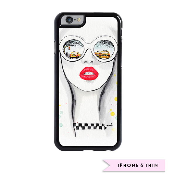 "Fashion iPhone Case ""Winter In NYC"""